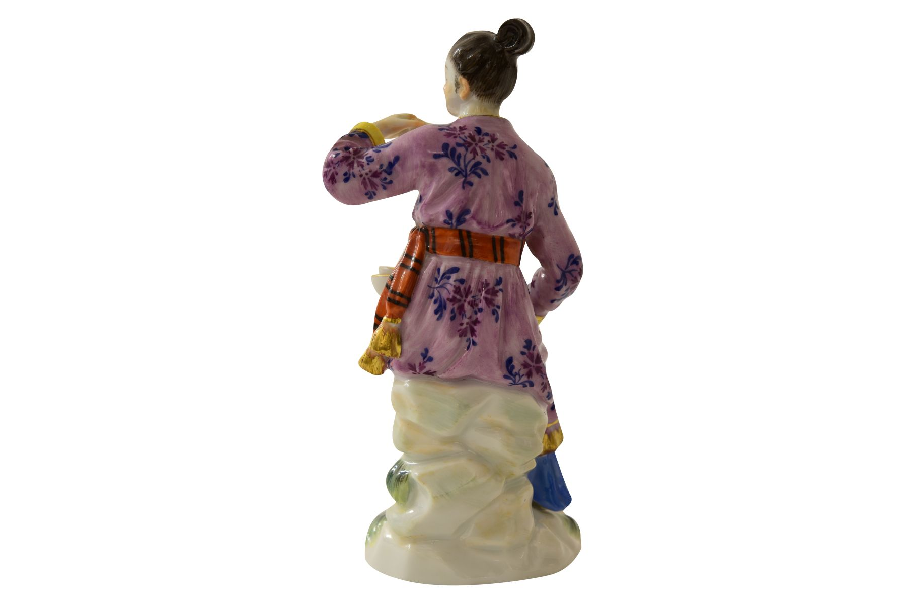 """Kleine Figur """"Japanerin"""" Meissen - Bild 3 aus 7"""