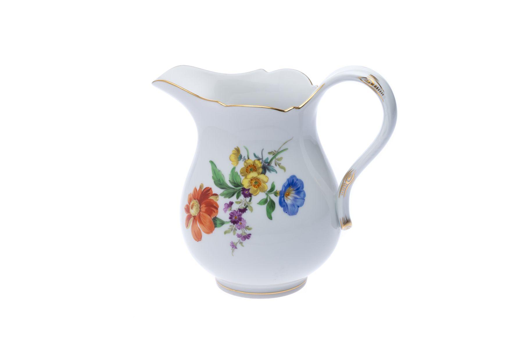 """Meissen Kaffeeservice """"3 Blumen"""" 22 teilig - Bild 13 aus 15"""