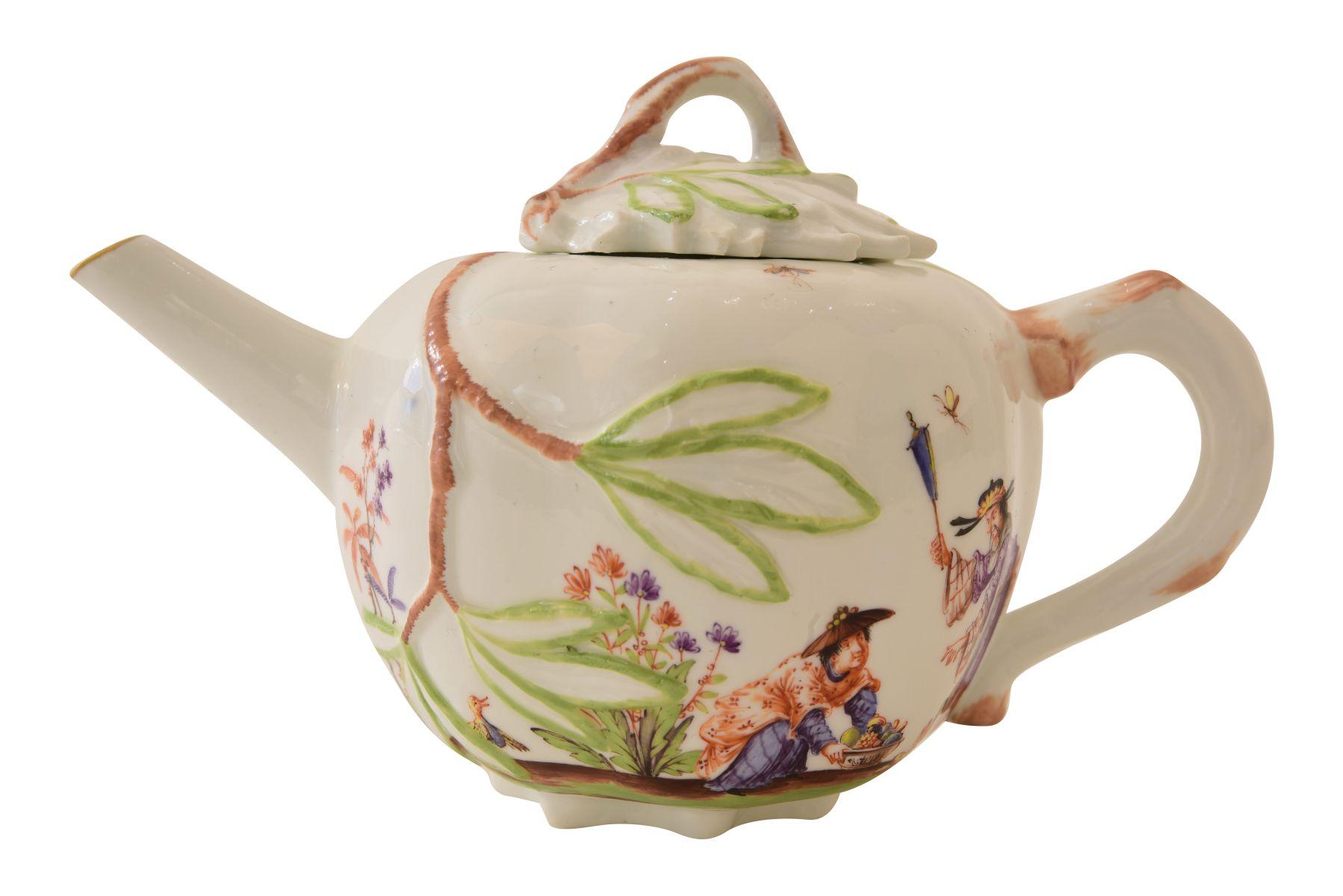 Kleines Teekännchen, Meissen - Bild 2 aus 6