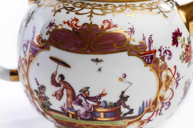 Teekanne, Meissen 1723/24 - Bild 3 aus 4