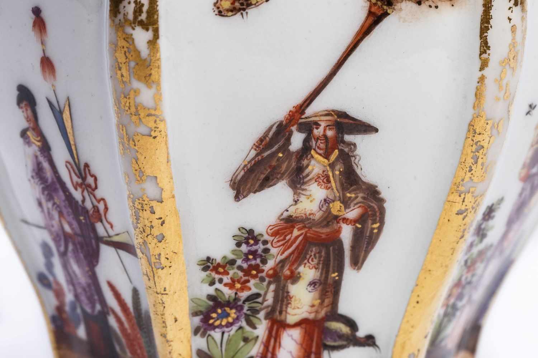 Teedose, Meissen 1725 - Bild 2 aus 3