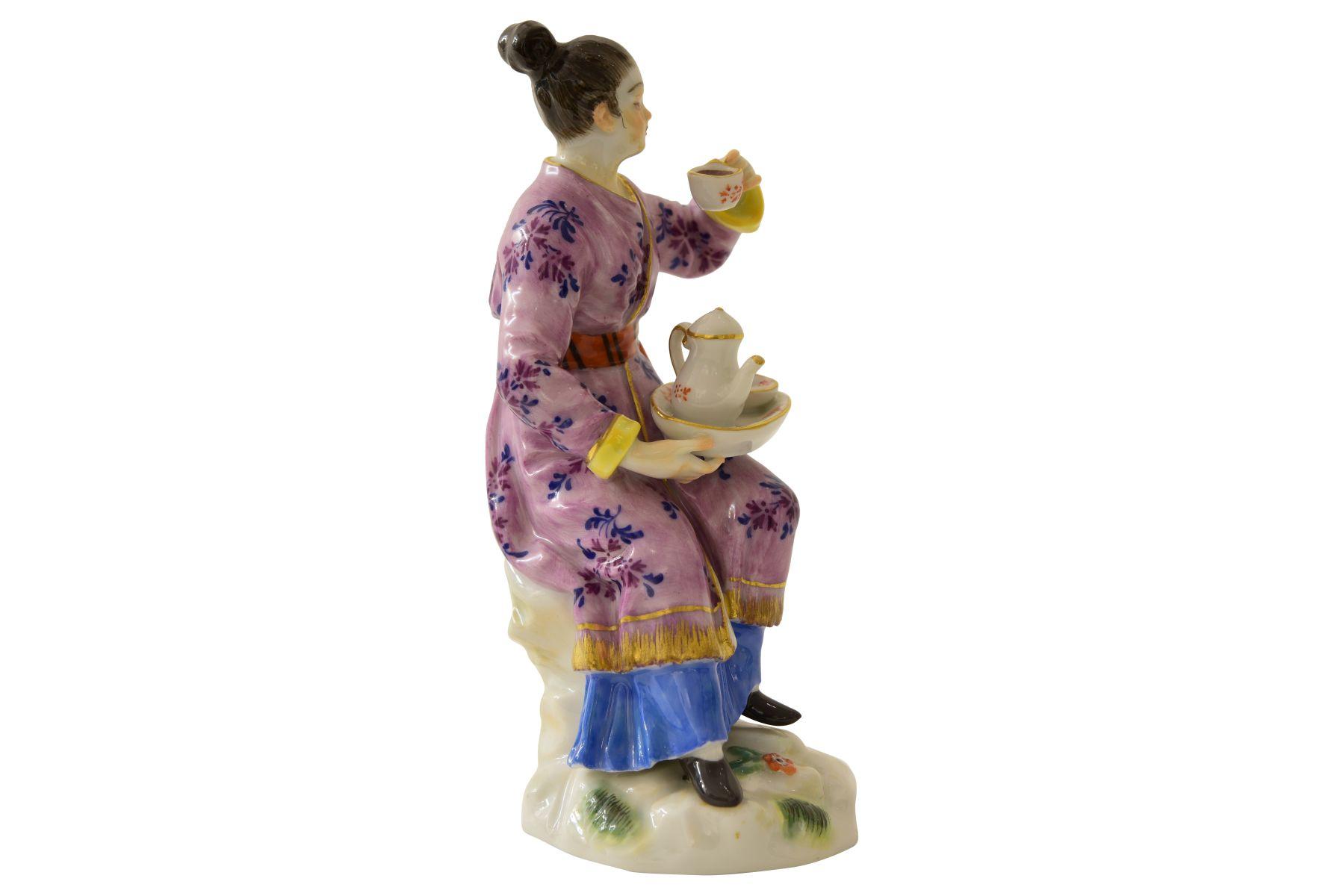 """Kleine Figur """"Japanerin"""" Meissen - Bild 5 aus 7"""