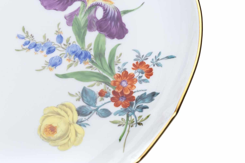 """Meissen Kaffeeservice """"3 Blumen"""" 22 teilig - Bild 7 aus 15"""