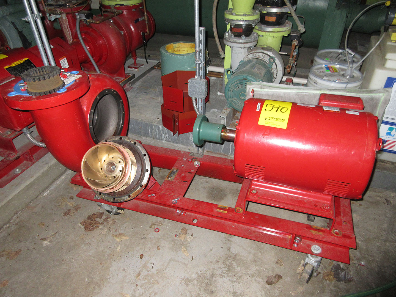 Baldor Super E Motor 25 Hp With Bell Gossett Pump