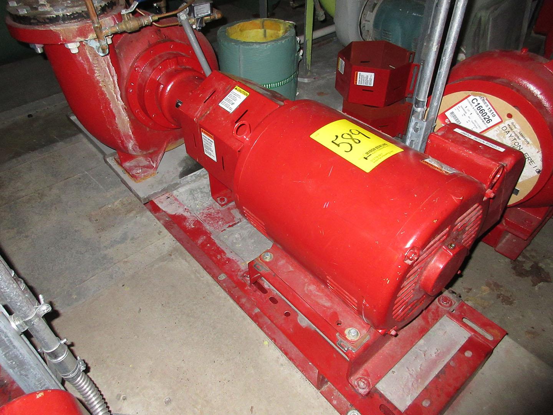 Baldor Super E 25 Hp Motor With Bell Gossett Pump Model