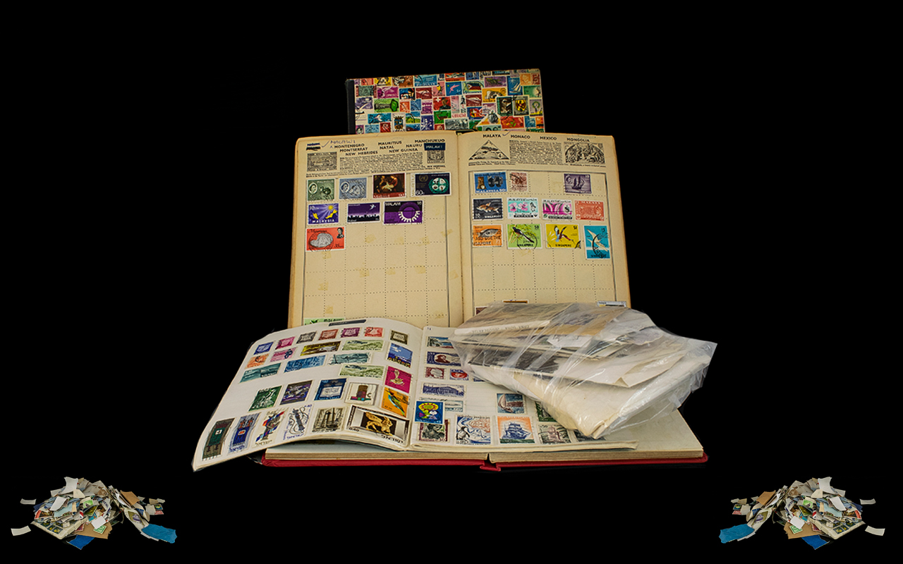 Lot 1595 - A Quantity Of Mixed Stamps. To Be Sorted