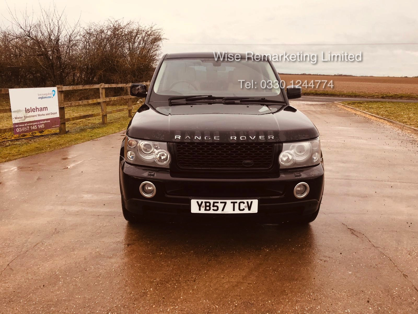 Range Rover Sport 2.7 TDV6 HSE Auto - 2008 Model - Cream Leather - Sat Nav - Heated Seats - Image 3 of 19