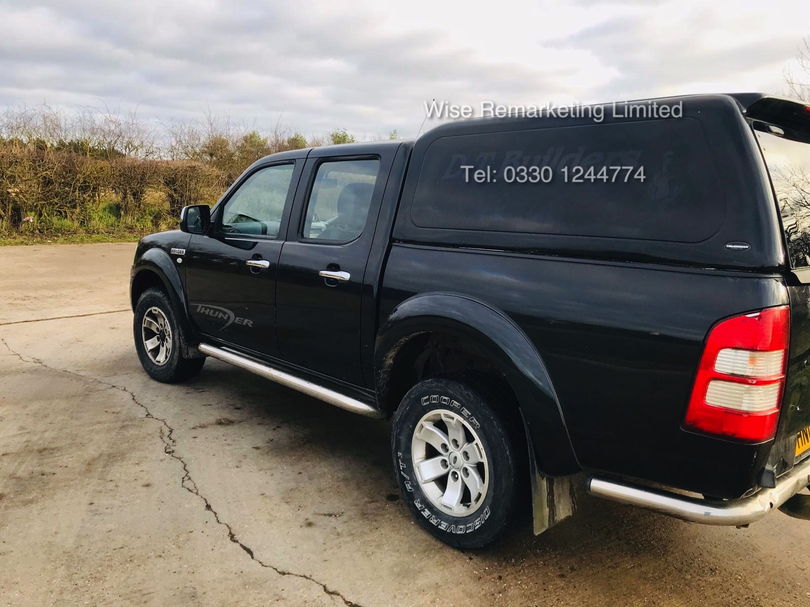 (RESERVE MET) Ford Ranger Thunder 2.5 Double Cab Pick Up - 2009 09 Reg - 4x4 - Service History - Image 2 of 17