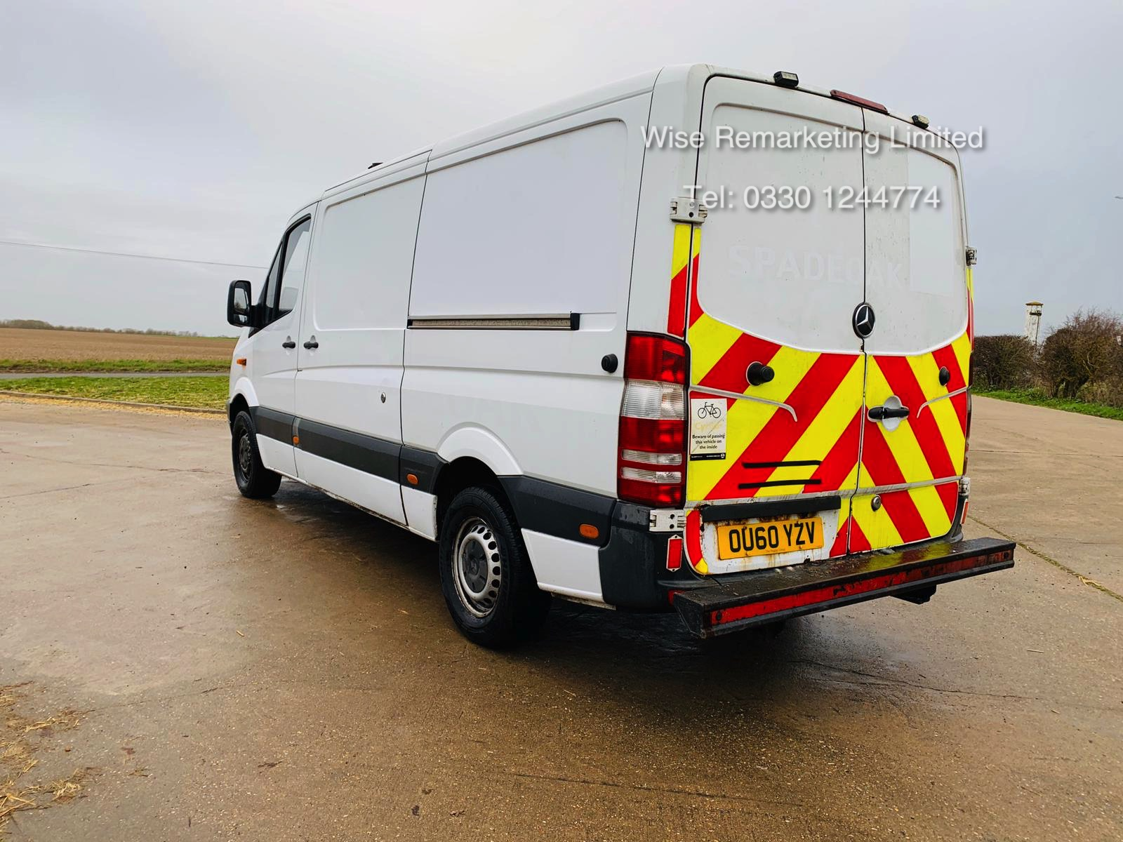 Reserve Met Mercedes Sprinter 313 CDI 2.1 TD *Automatic Triptronic Gearbox* - 2011 Model - Ply Lined - Image 3 of 15