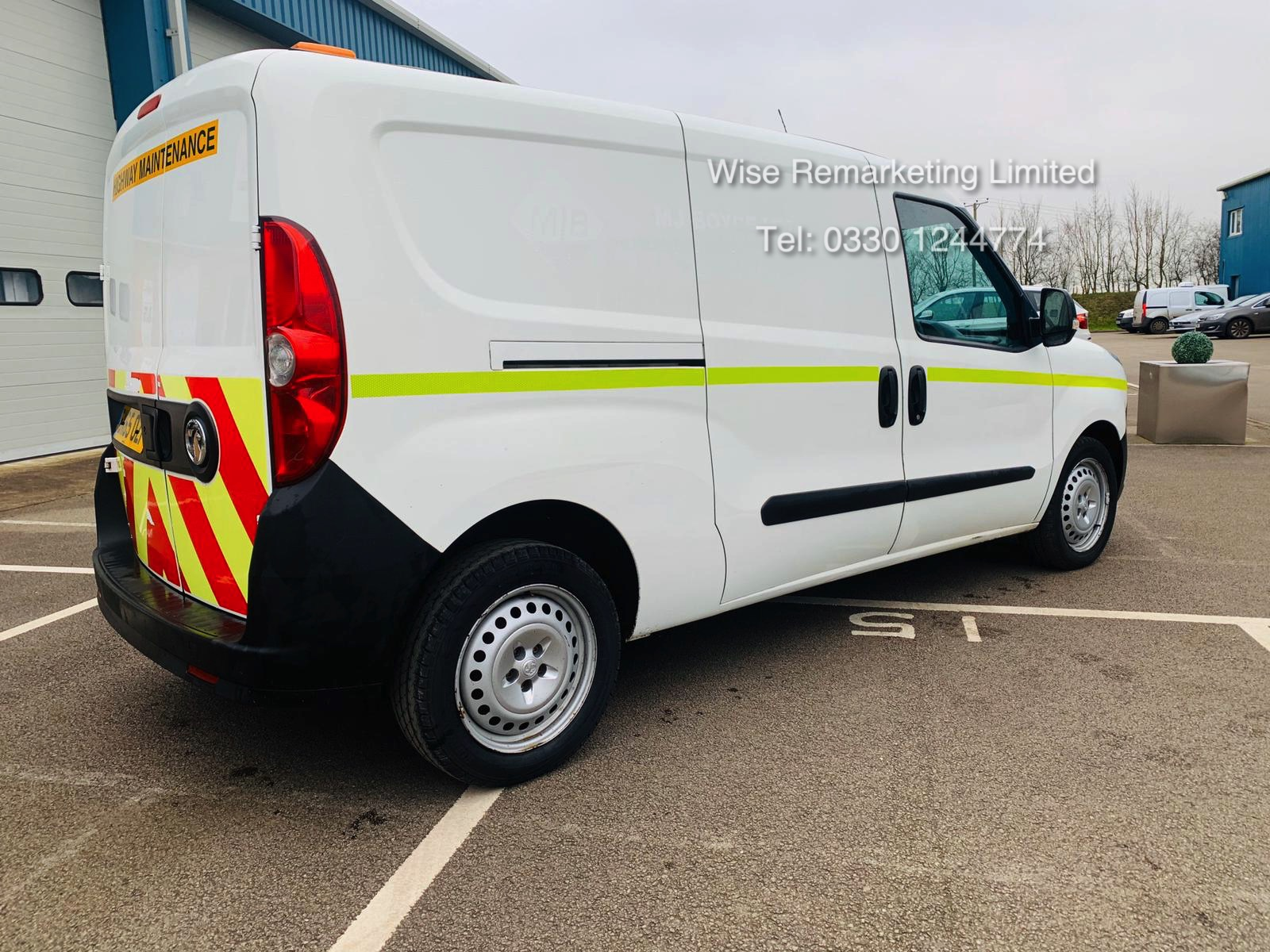 Vauxhall Combo 2300 1.6 CDTI Long - 2016 Model - 1 Keeper From New - Twin Doors - Ply Lined - Image 8 of 21