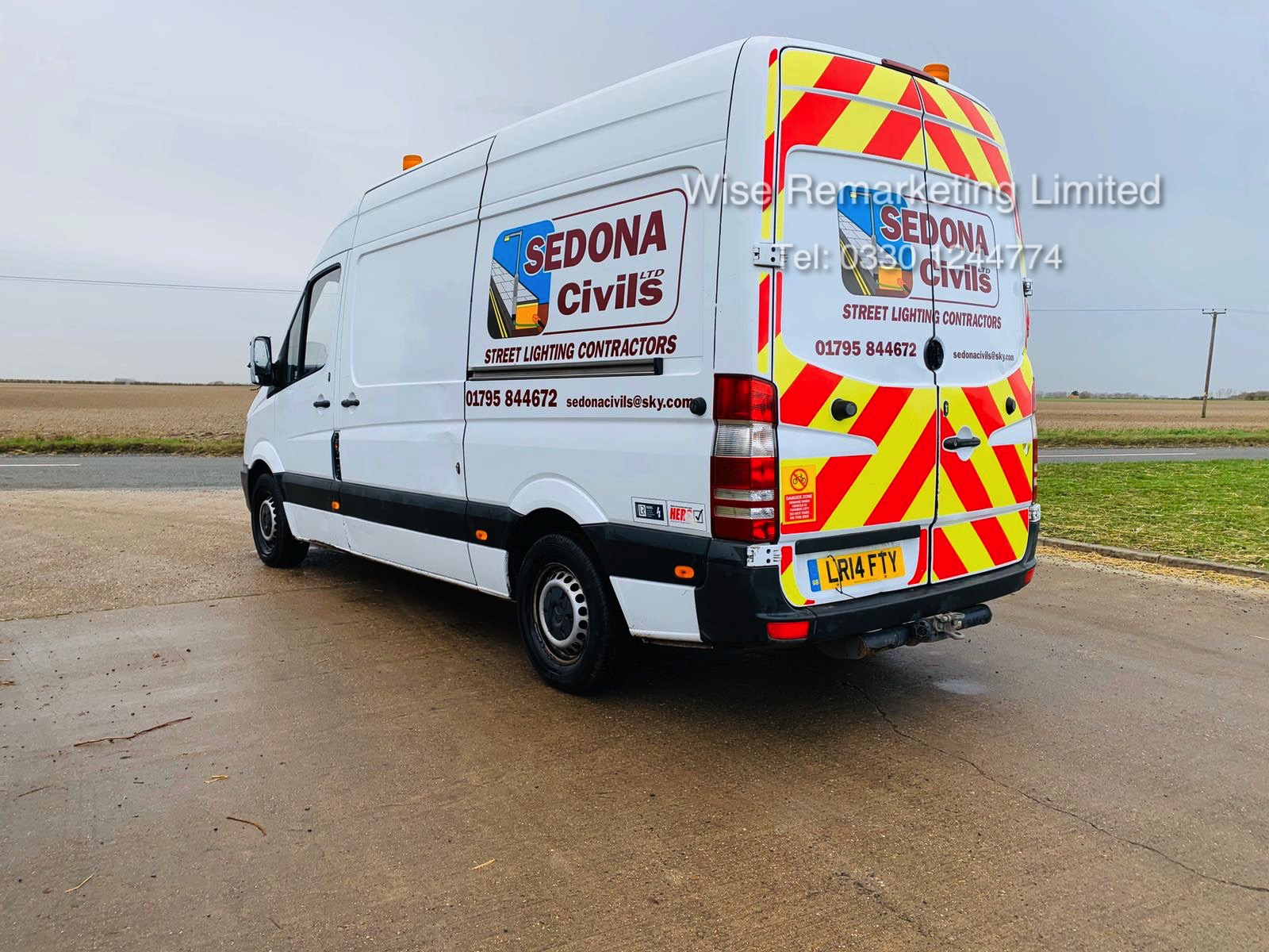 Mercedes Sprinter 313 2.1 CDI - 2014 14 Reg - 6 Speed - Ply Lined - Company Owned - Image 8 of 18