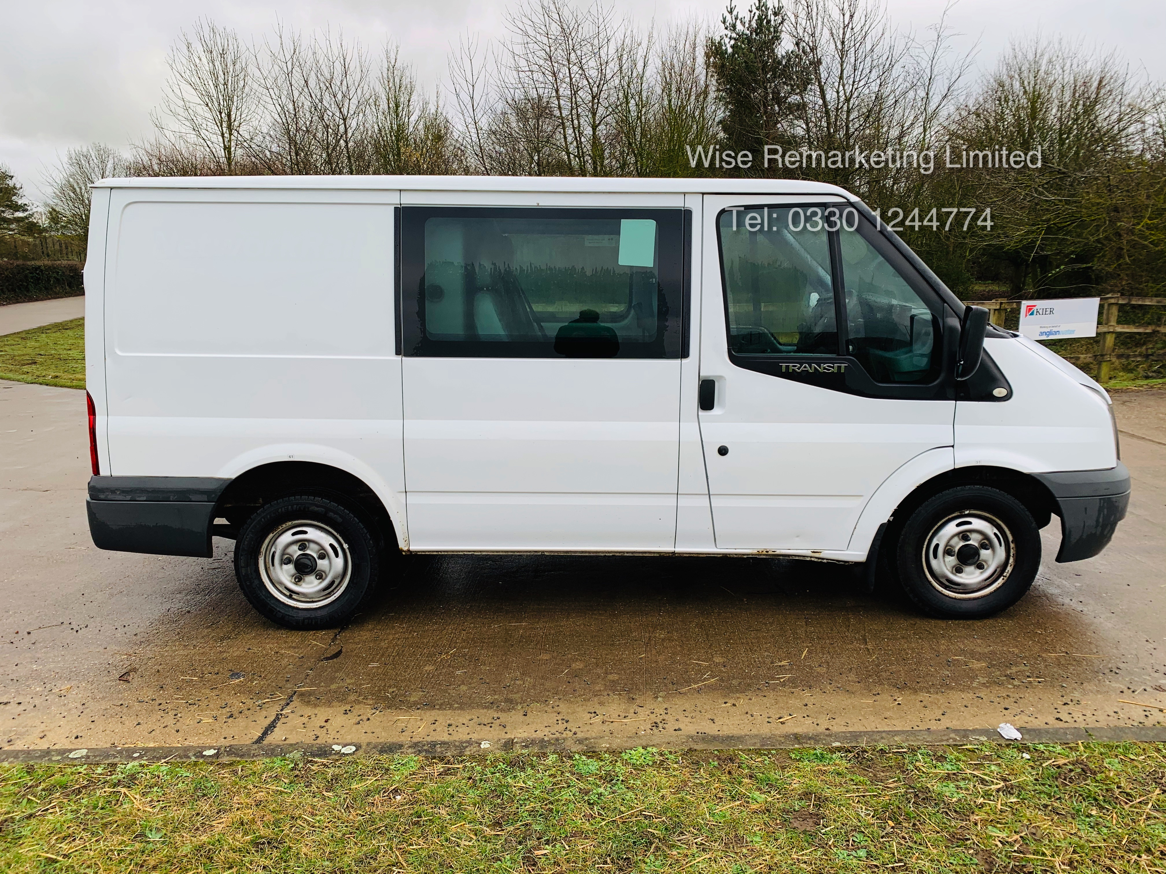 (RESERVE MET) Ford Transit T280 2.2 TDCI Dualliner Crew Van (6 Seater) - 2012 Model - 1 Year MOT - Image 5 of 15