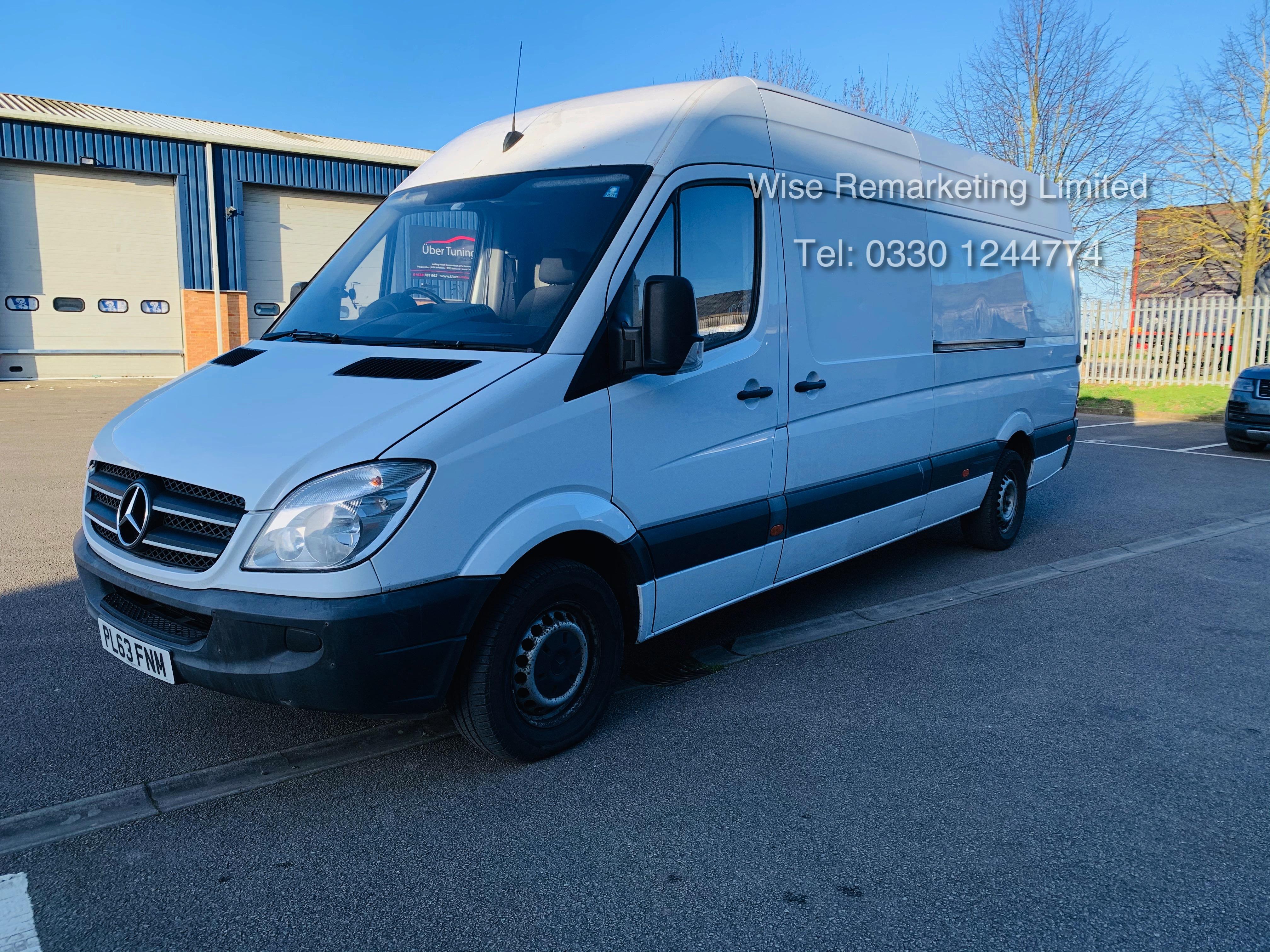 (RESERVE MET) Mercedes Sprinter 316 2.1 CDI Long Wheel Base High Roof Van - 2014 Model - 1 Owner - Image 2 of 19
