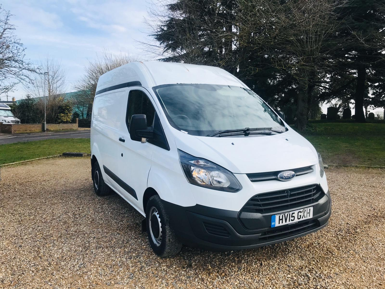 Ford Transit Custom 2.2 TDCI **HIGH ROOF** 2015 15 Reg - SAVE 20% NO VAT