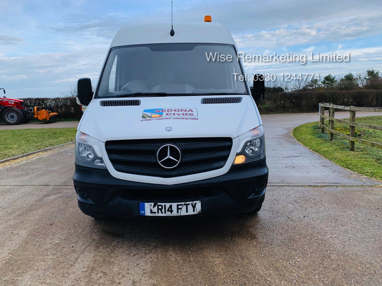 Mercedes Sprinter 313 2.1 CDI - 2014 14 Reg - 6 Speed - Ply Lined - Company Owned - Image 7 of 18