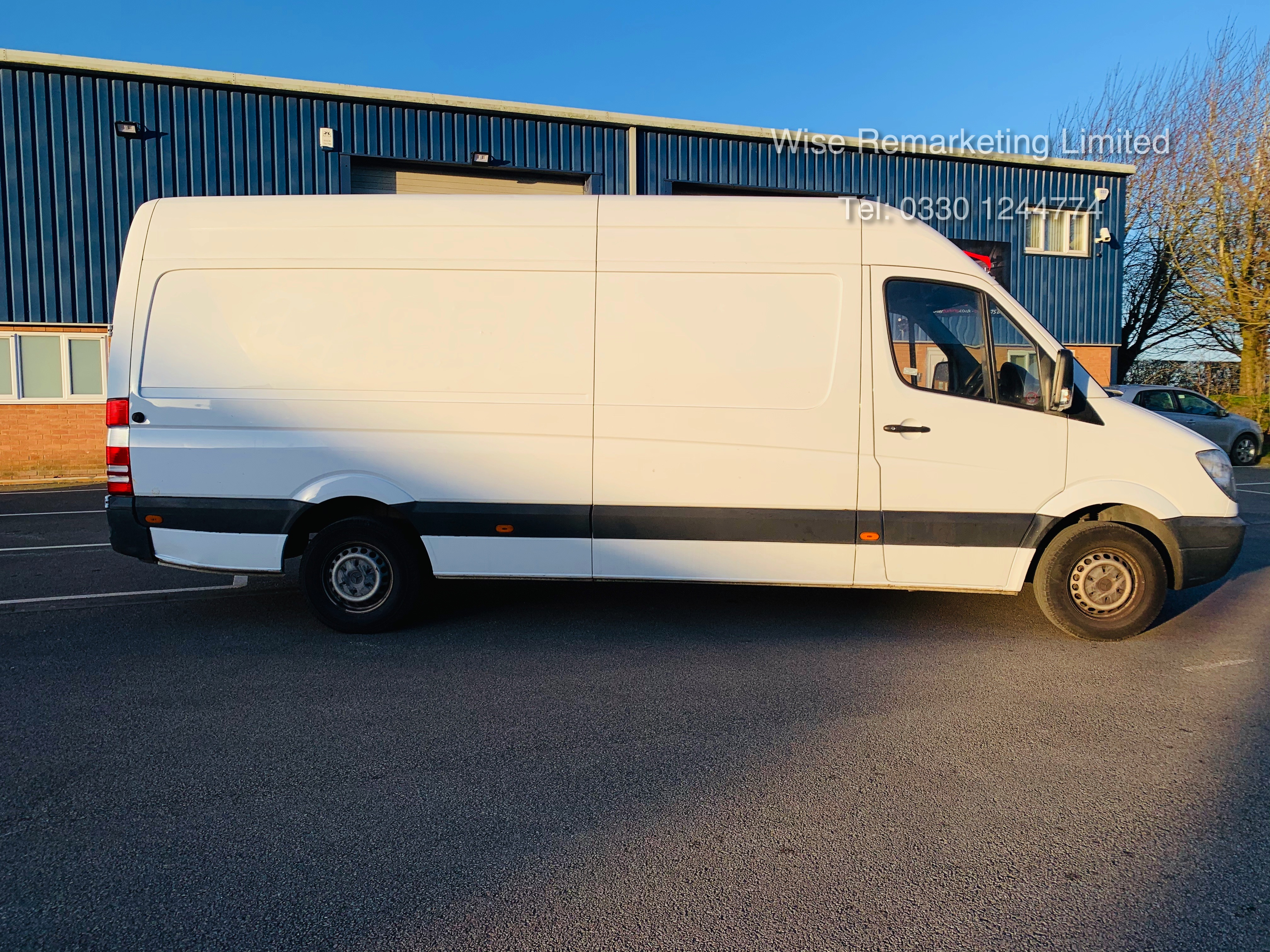 Mercedes Sprinter 316 2.1 CDI Long Wheel Base High Roof Van - 2013 13 Reg - 1 Owner From New - Image 2 of 20