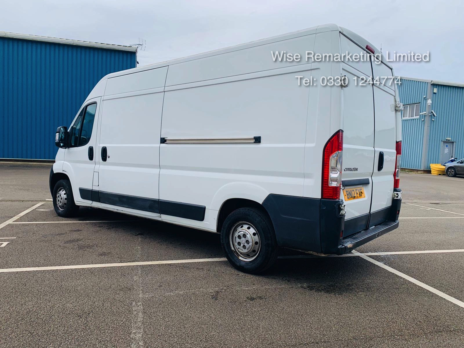 Citroen Relay 35 2.2 HDi (130 BHP) LWB 2012 12 Reg - 6 Speed - Ply Lined SAVE 20% NO VAT - Image 7 of 20