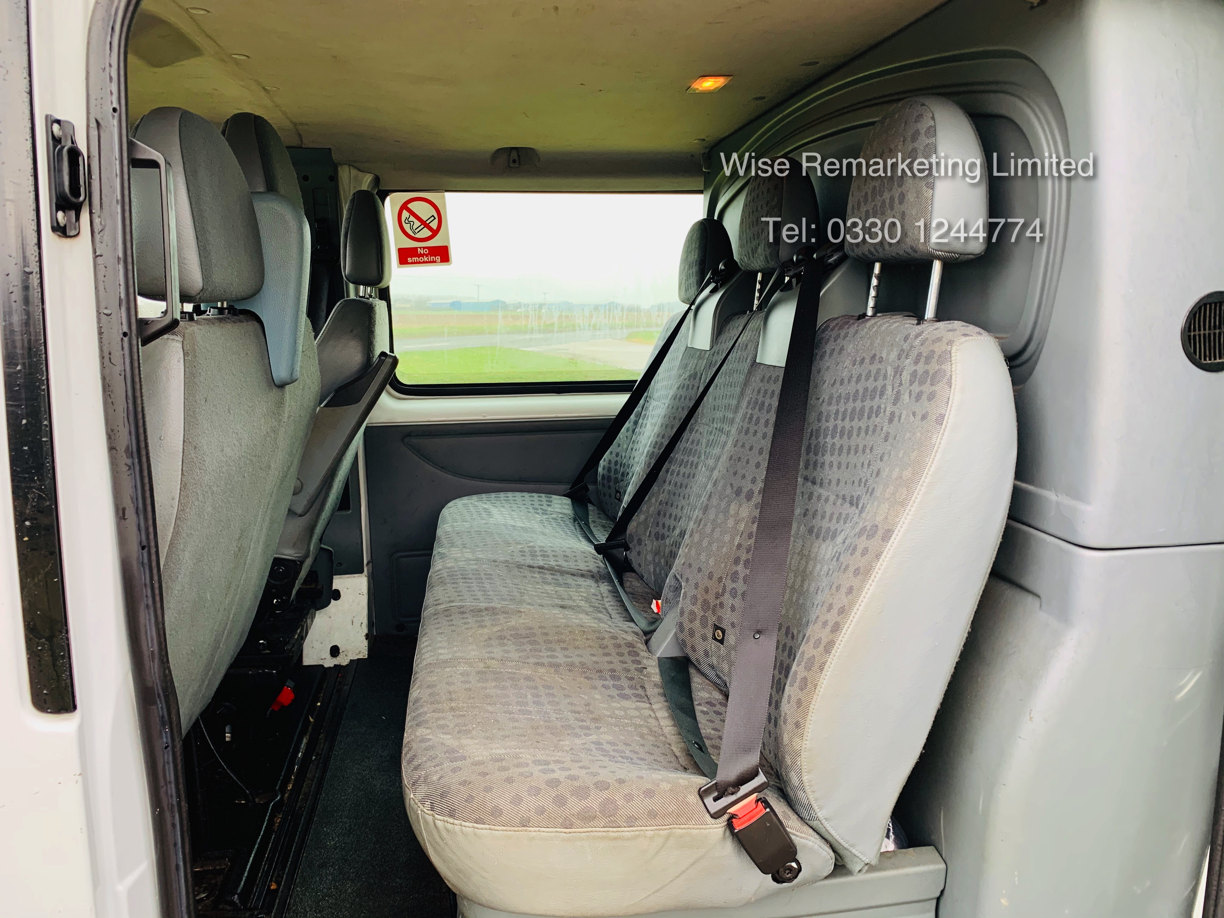 (RESERVE MET) Ford Transit T280 2.2 TDCI Dualliner Crew Van (6 Seater) - 2012 Model - 1 Year MOT - Image 10 of 15