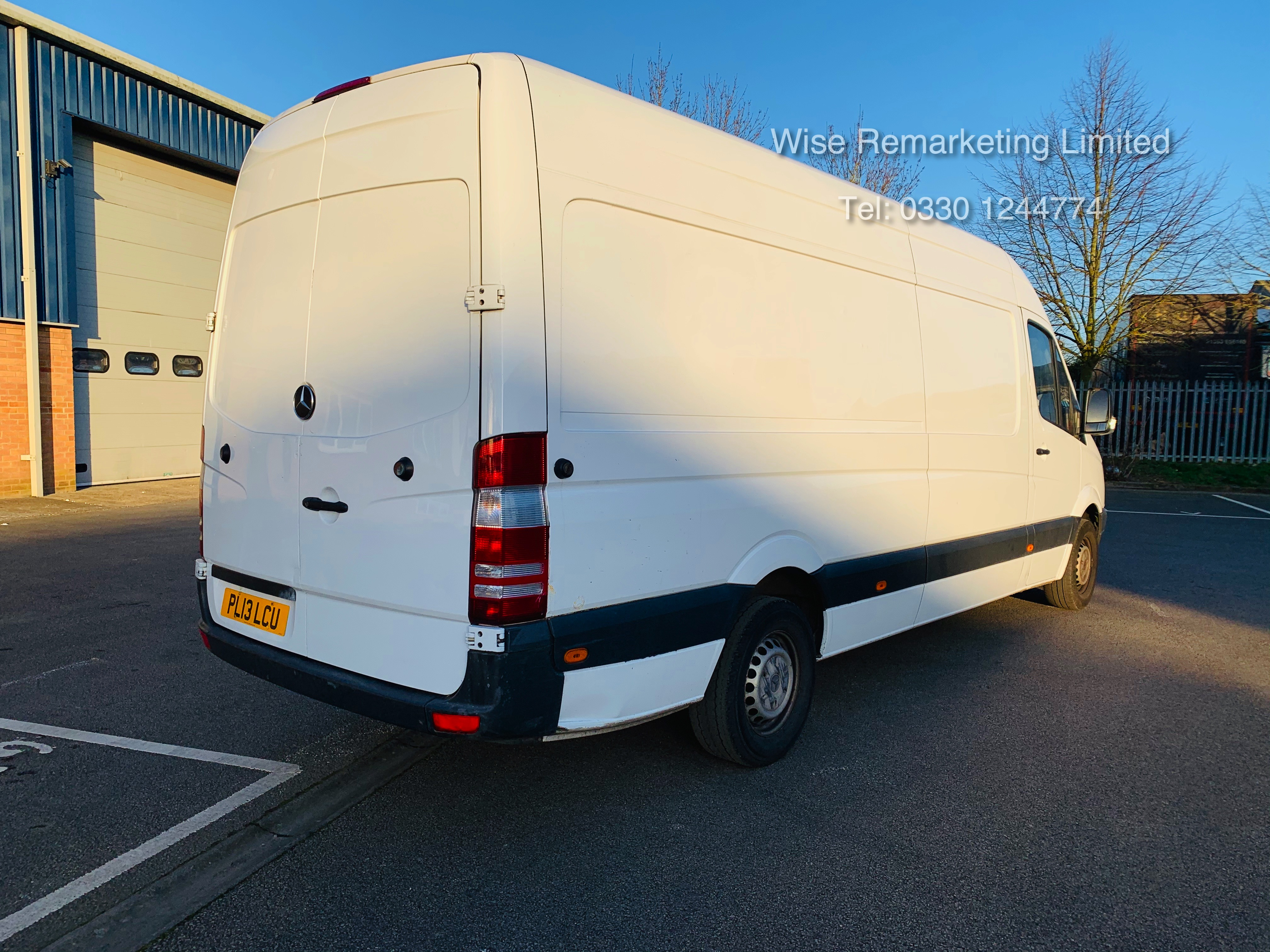 Mercedes Sprinter 316 2.1 CDI Long Wheel Base High Roof Van - 2013 13 Reg - 1 Owner From New - Image 7 of 20