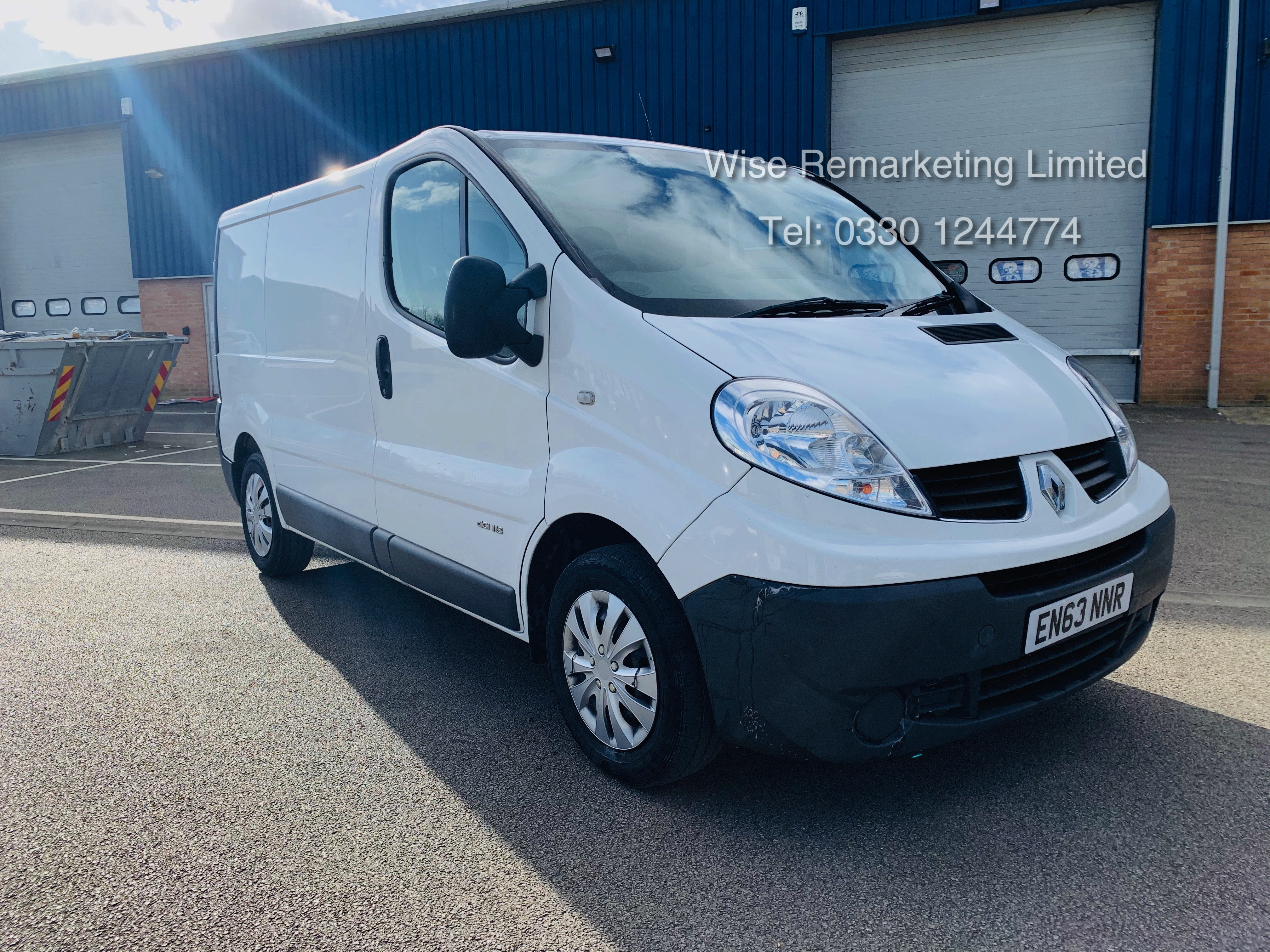 Renault Trafic 2.0 DCI (115 BHP) - 6 Speed - 2014 Reg - Ply Lined -