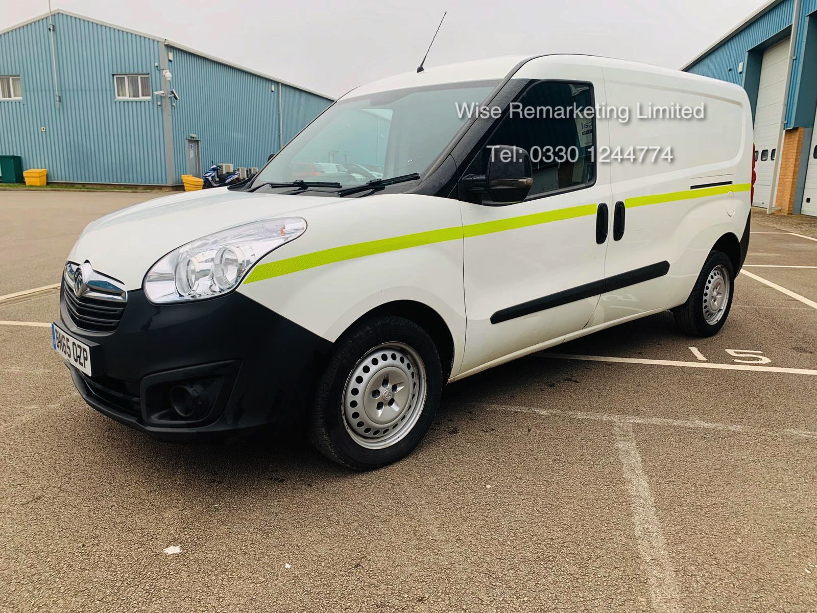 Vauxhall Combo 2300 1.6 CDTI Long - 2016 Model - 1 Keeper From New - Twin Doors - Ply Lined - Image 6 of 21