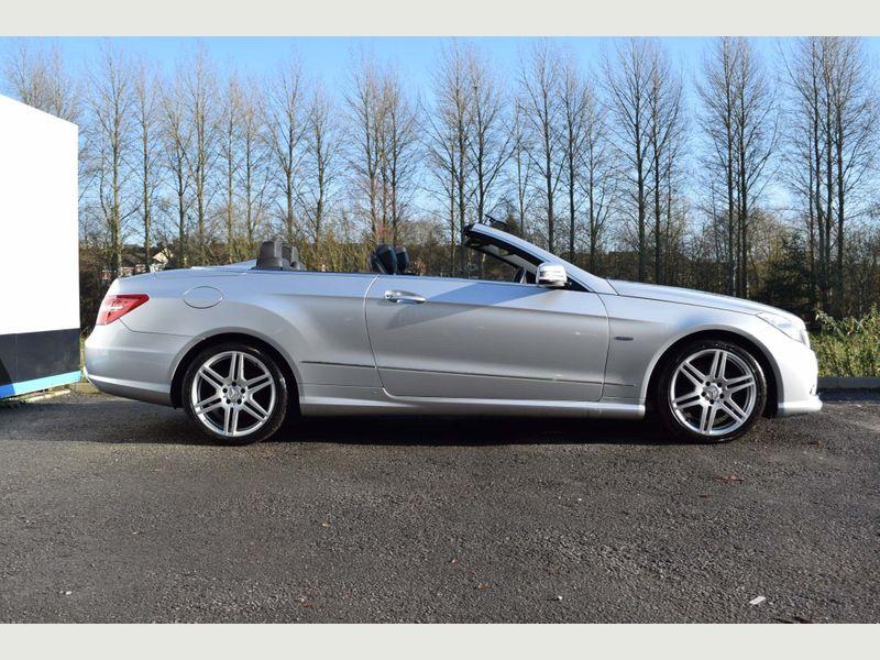 Mercedes E250 CDI Convertible Sport Tip Auto - 2013 Model - Service History -