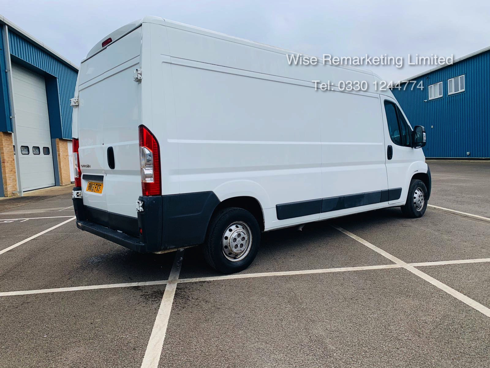 Citroen Relay 35 2.2 HDi (130 BHP) LWB 2012 12 Reg - 6 Speed - Ply Lined SAVE 20% NO VAT - Image 4 of 20