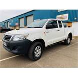 Reserve Met Toyota Hilux Active 2.5 D-4D 4X4 - 2014 14 Reg - Air Con - Tow Pack - SAVE 20% NO VAT