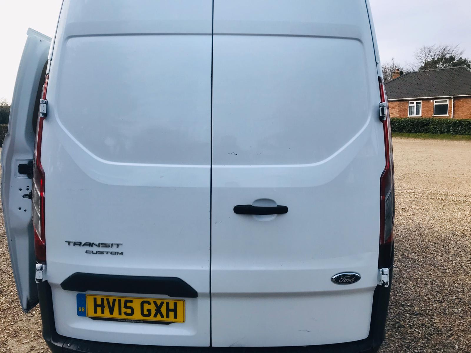 Ford Transit Custom 2.2 TDCI **HIGH ROOF** 2015 15 Reg - SAVE 20% NO VAT - Image 4 of 17