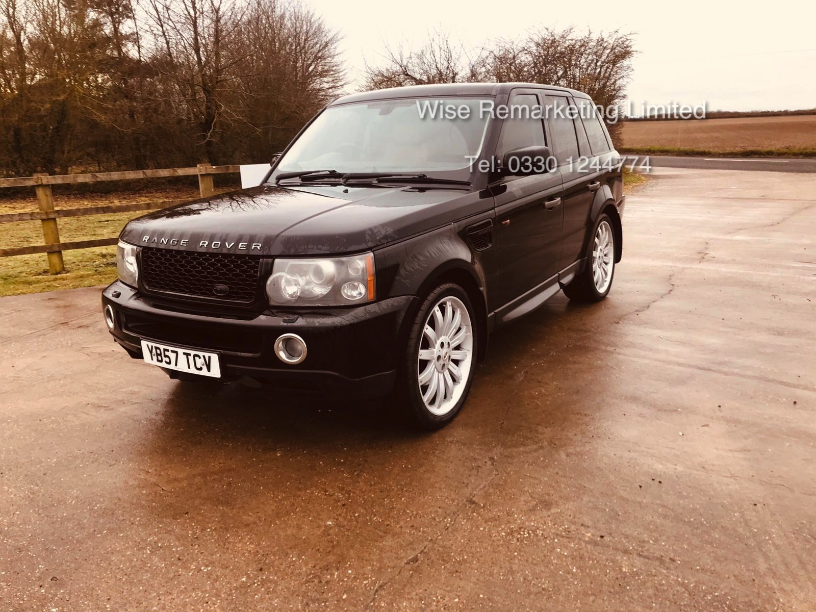 Range Rover Sport 2.7 TDV6 HSE Auto - 2008 Model - Cream Leather - Sat Nav - Heated Seats