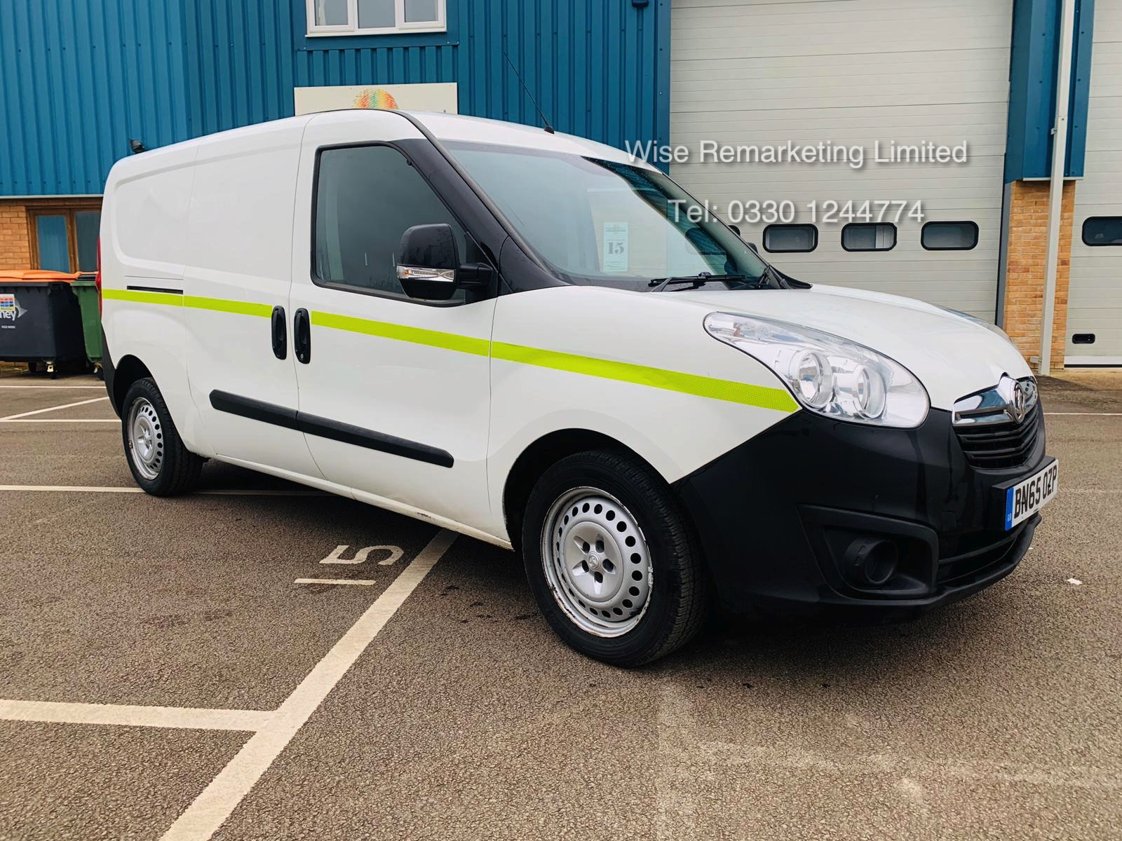Vauxhall Combo 2300 1.6 CDTI Long - 2016 Model - 1 Keeper From New - Twin Doors - Ply Lined