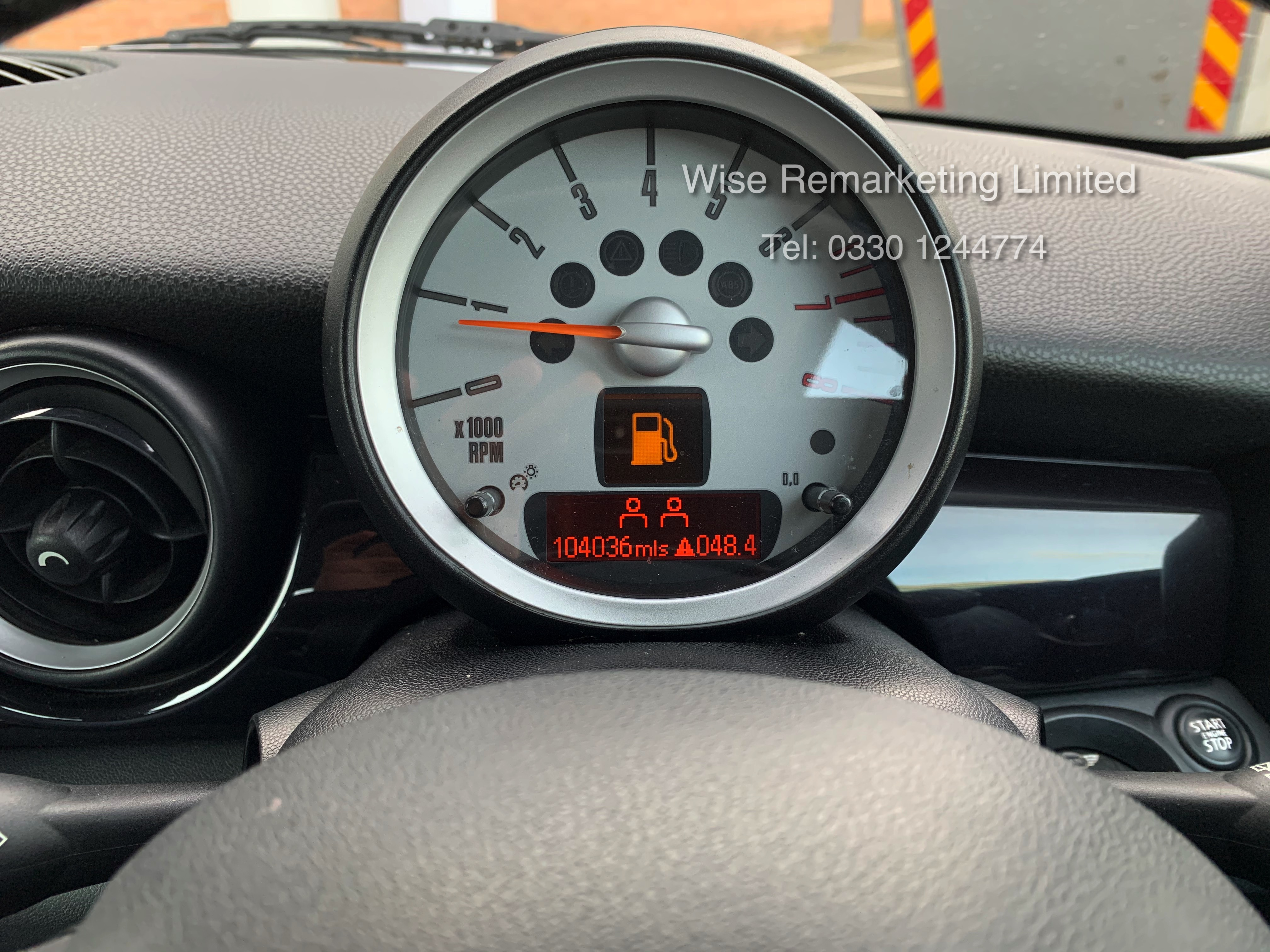 (RESERVE MET) Mini One Graphite 1.4 Petrol - 2010 Model - Service History - 6 Speed - Air Con - - Image 18 of 19