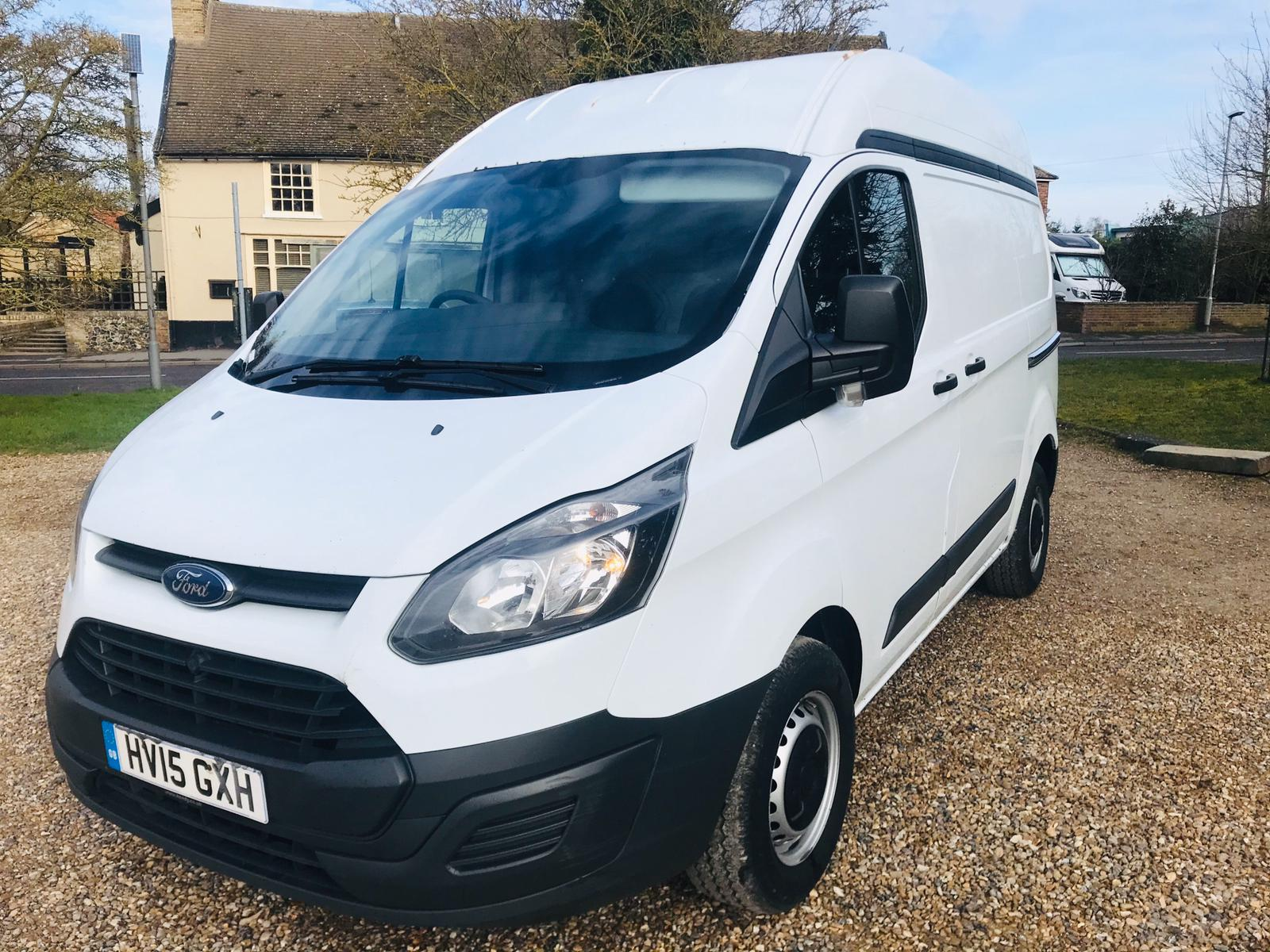 Ford Transit Custom 2.2 TDCI **HIGH ROOF** 2015 15 Reg - SAVE 20% NO VAT - Image 2 of 17