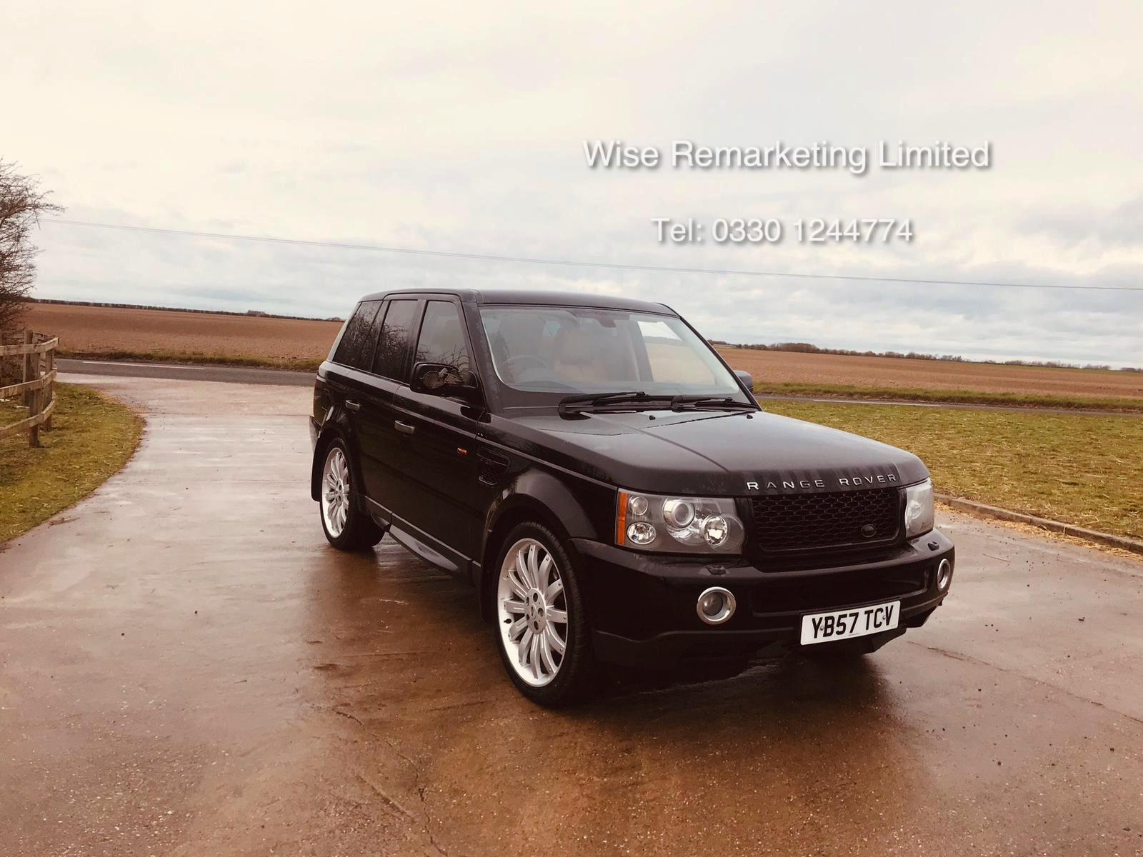 Range Rover Sport 2.7 TDV6 HSE Auto - 2008 Model - Cream Leather - Sat Nav - Heated Seats - Image 2 of 19