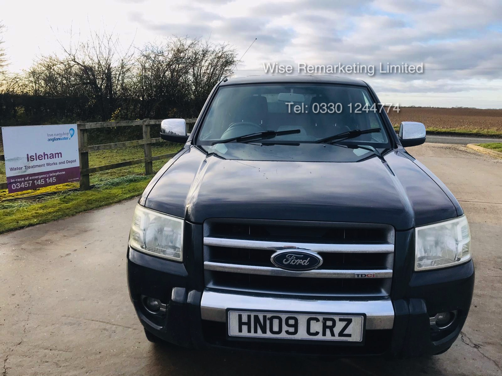(RESERVE MET) Ford Ranger Thunder 2.5 Double Cab Pick Up - 2009 09 Reg - 4x4 - Service History - Image 5 of 17