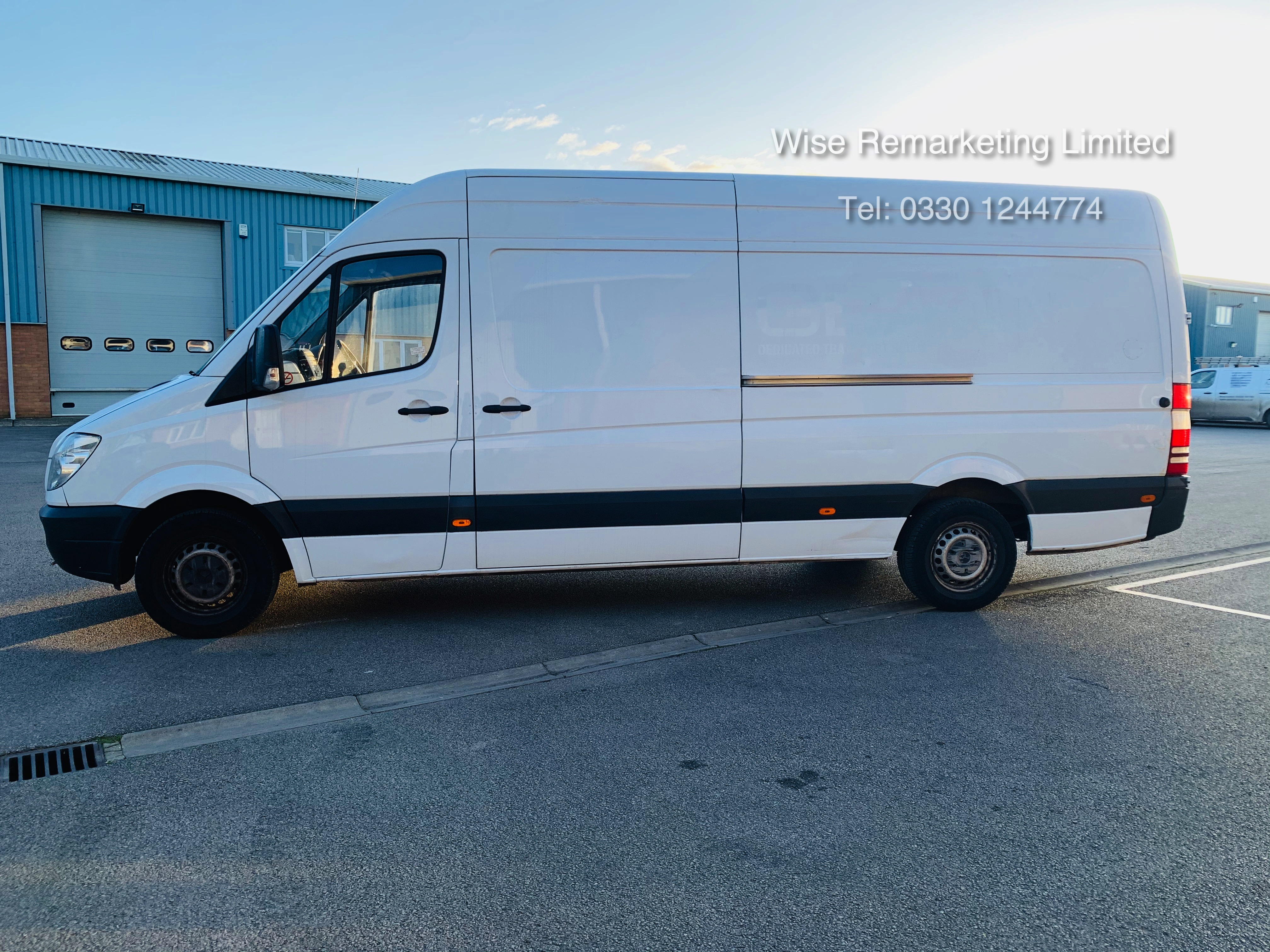 Mercedes Sprinter 316 2.1 CDI Long Wheel Base High Roof Van - 2013 13 Reg - 1 Owner From New - Image 8 of 20
