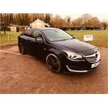 (RESERVE MET) Vauxhall Insignia 2.0 CDTI Techline 6 Speed - 2014 Model - Part Leather -