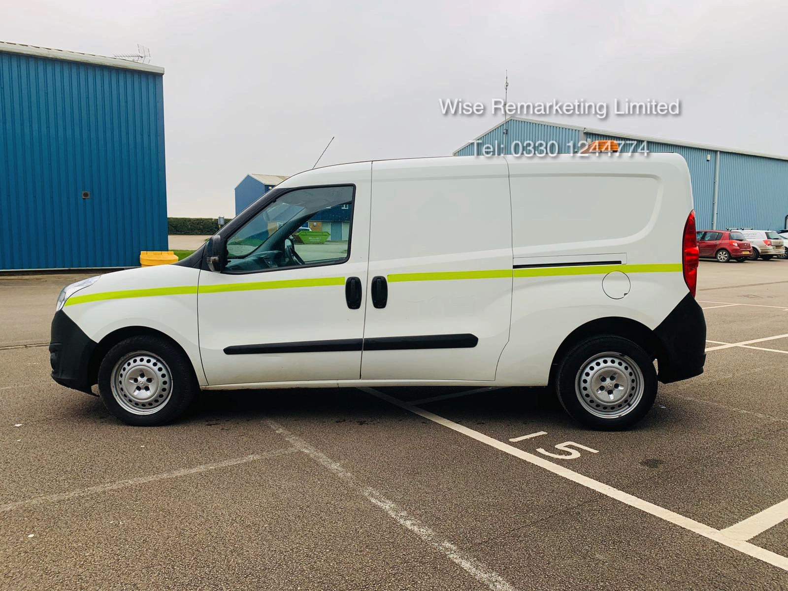 Vauxhall Combo 2300 1.6 CDTI Long - 2016 Model - 1 Keeper From New - Twin Doors - Ply Lined - Image 2 of 21