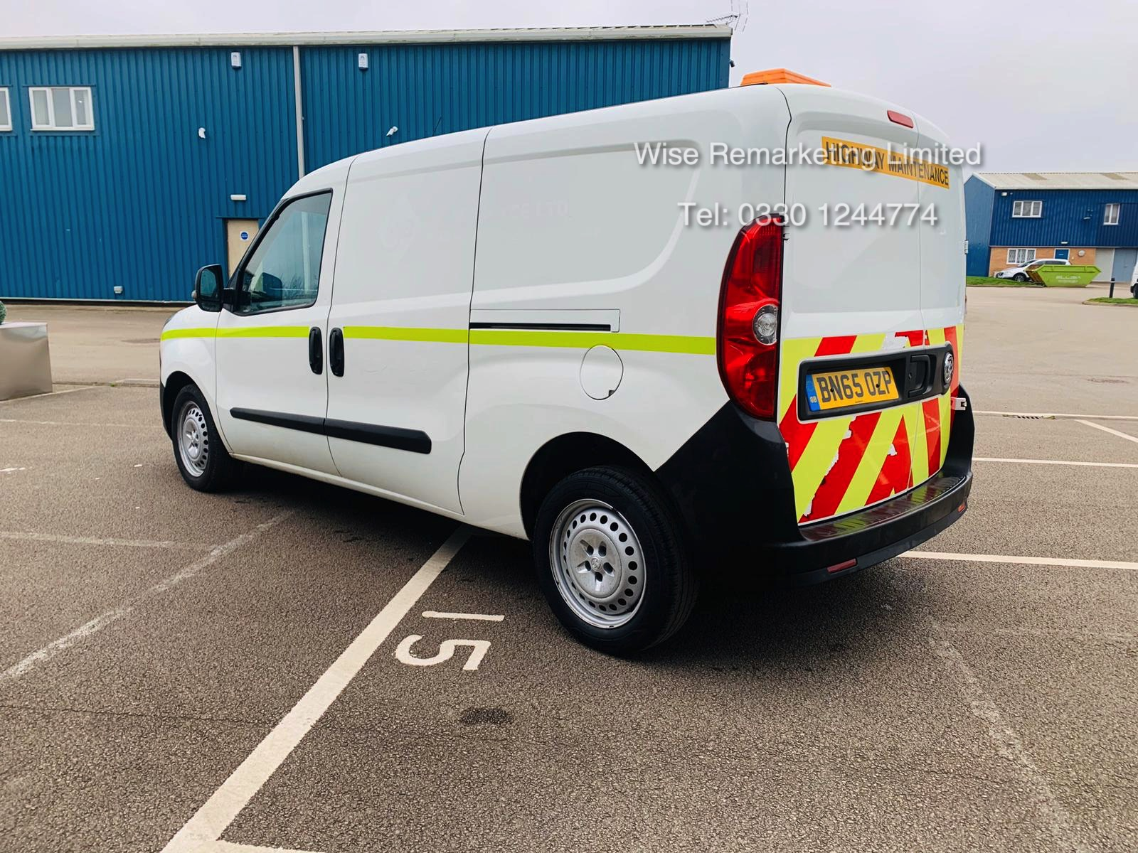 Vauxhall Combo 2300 1.6 CDTI Long - 2016 Model - 1 Keeper From New - Twin Doors - Ply Lined - Image 4 of 21