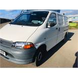 Toyota Hiace 300 GS 2.5 D4D - 2003 03 Reg - 1 Keeper From New - 3 Seater - Roof Rack