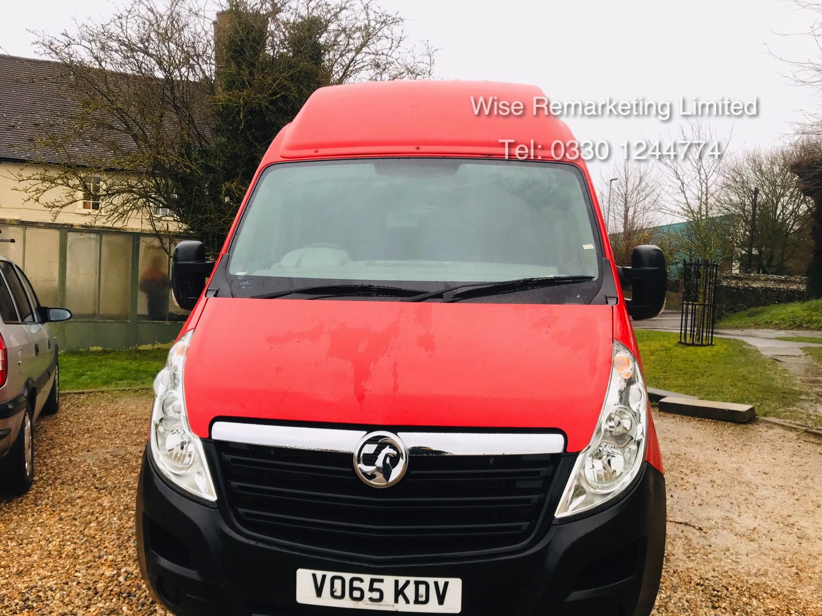 Vauxhall Movano 35 2.3 CDTi BiTurbo EcoFlex **HIGH ROOF** 2016 Model - AIr con - 1 Owner - RARE - Image 5 of 21