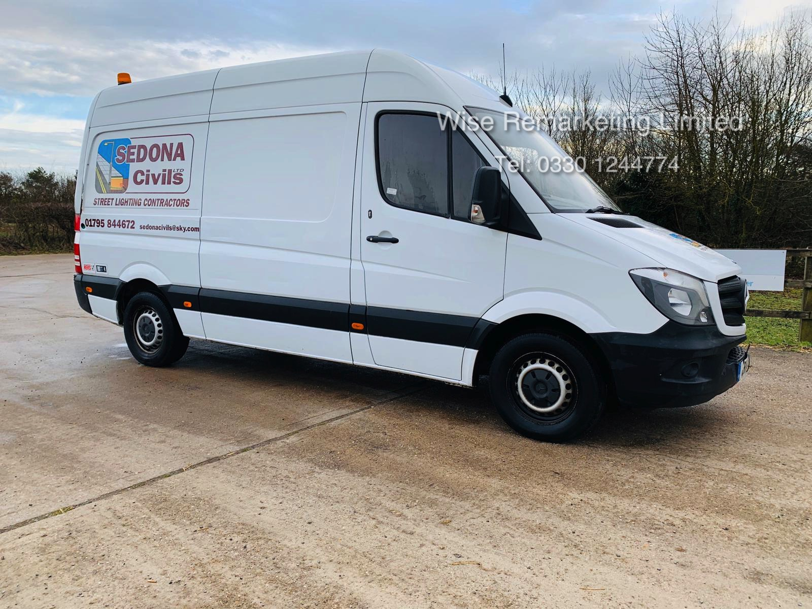 Mercedes Sprinter 313 2.1 CDI - 2014 14 Reg - 6 Speed - Ply Lined - Company Owned - Image 3 of 18