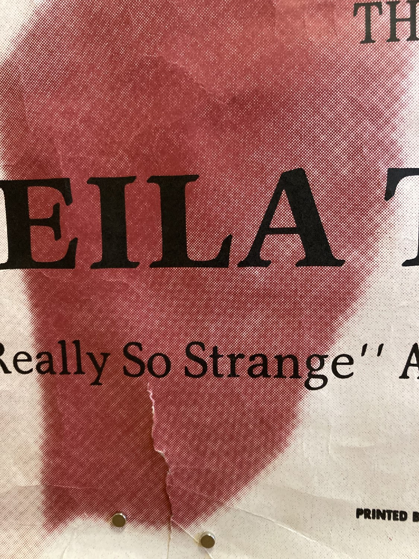 THE SMITHS SHEILA TAKE A BOW POSTER. An original poster for The Smiths - Sheila.. - Image 3 of 4