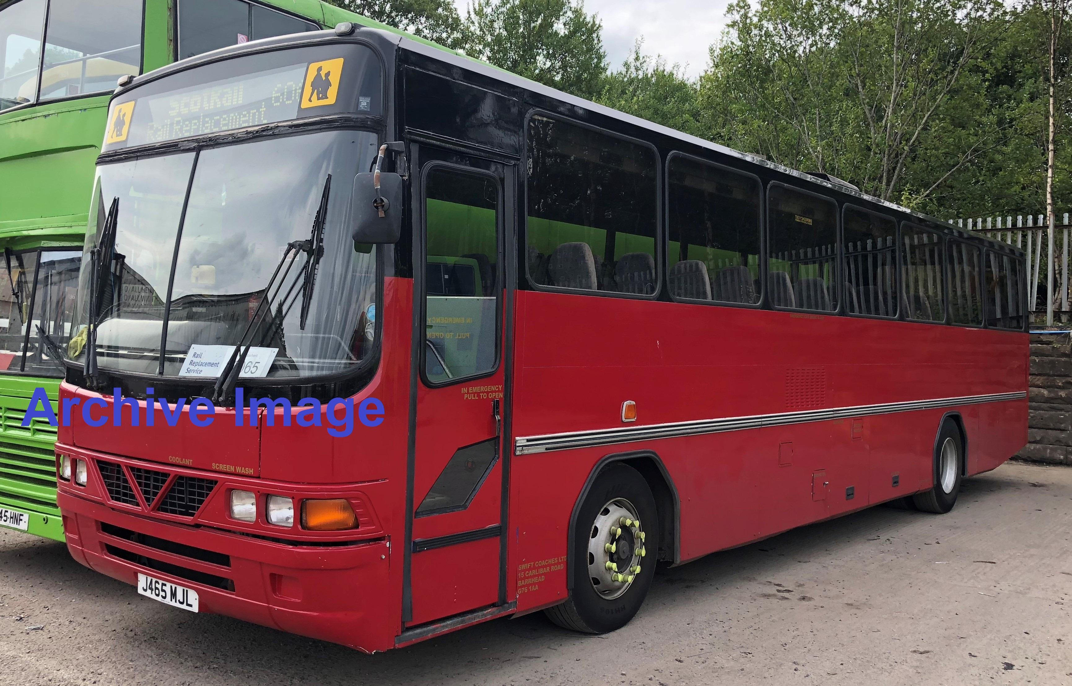 Leyland Tiger School Bus,Wright Endeavour Body, Registration: J465 MJL, Date of Registration- June - Image 5 of 5