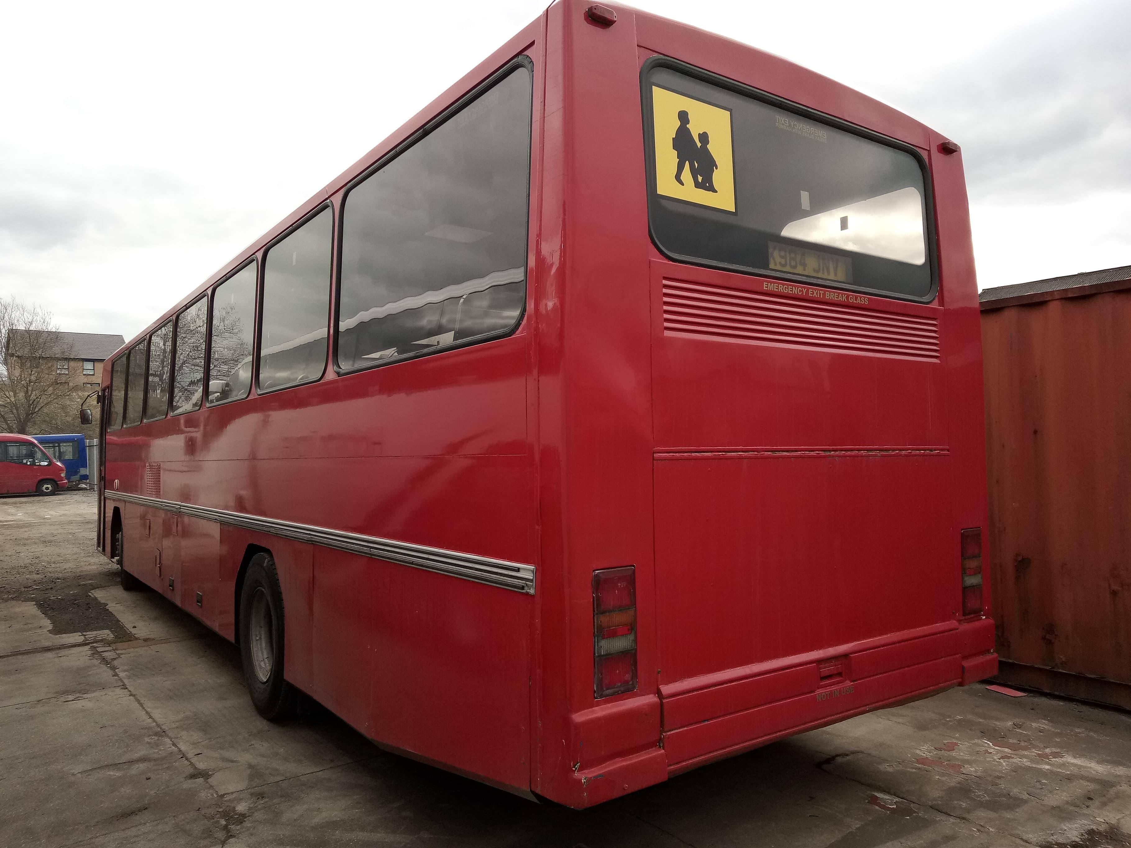 Leyland Tiger School Bus Registration K984 JNV, Date of Registration October 1992, Vehicle - Image 2 of 6