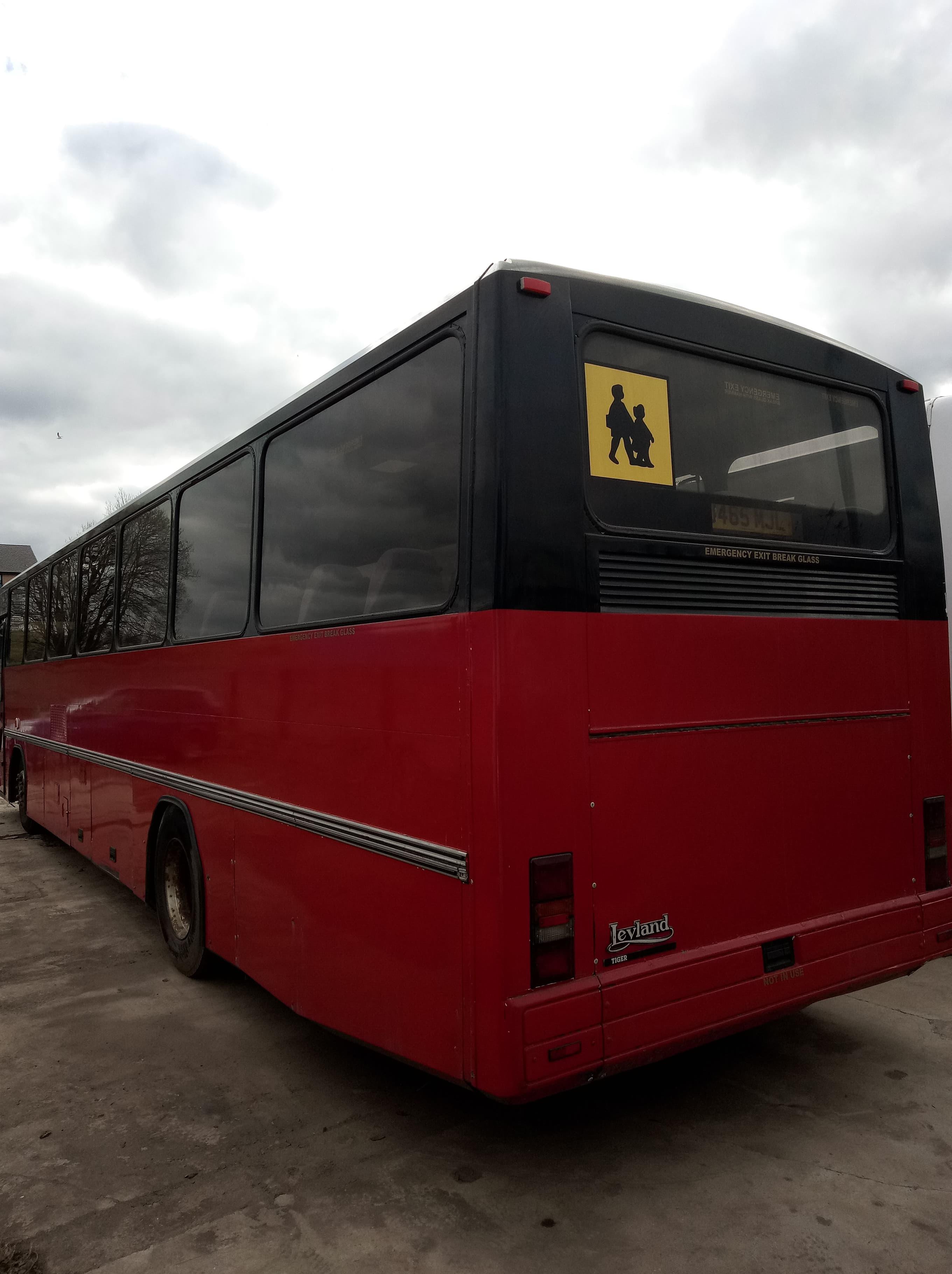 Leyland Tiger School Bus,Wright Endeavour Body, Registration: J465 MJL, Date of Registration- June - Image 2 of 5