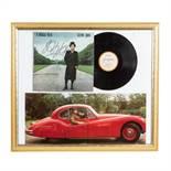 Autographen - Musiklegenden: ELTON JOHN,handsigniertes Plattencover A SINGLE MAN mit L