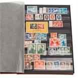 DDR BriefmarkenDickes Einsteckalbum mit postfrischen, ungebrauchten und gestempelten M