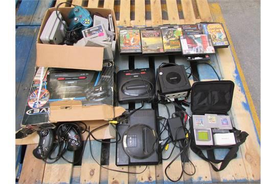 Consoles job lot megadrive snes n64 gameboy game cube