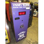 DELTRONICS TT-2000 UPRIGHT TICKET EATER MACHINE
